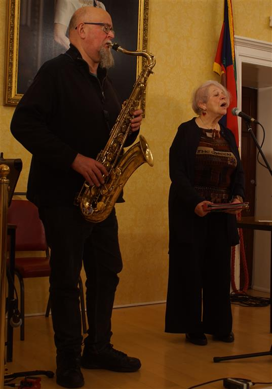 Liz Lochhead and Steve Kettley